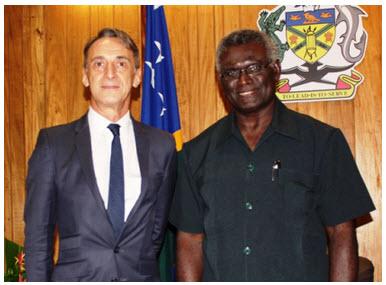 Jean-Paul Carteron, Sogavare, Crans Montana Forum, Monaco Ambassadors Club